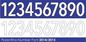 fiorentina font 2014 2015